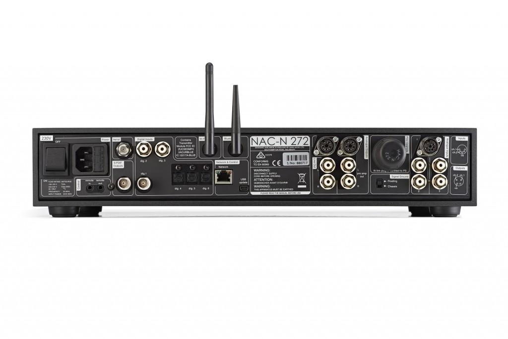 Naim NAC-N 272 rear