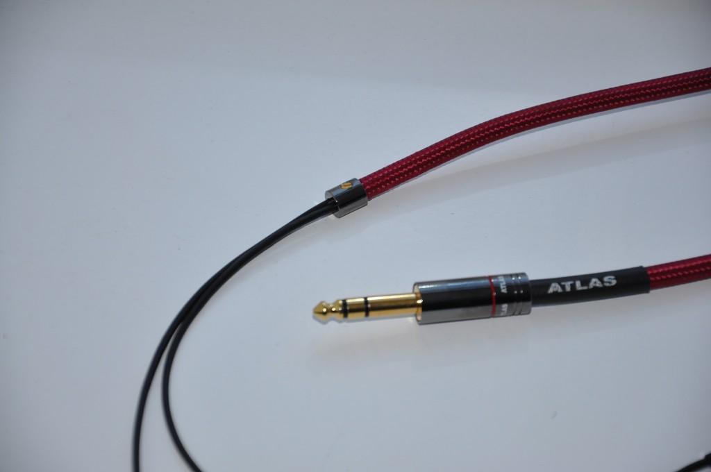 Atlas Zeno headphone cables