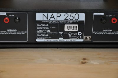 Naim NAP 250 v NAP 250 DR – coming soon