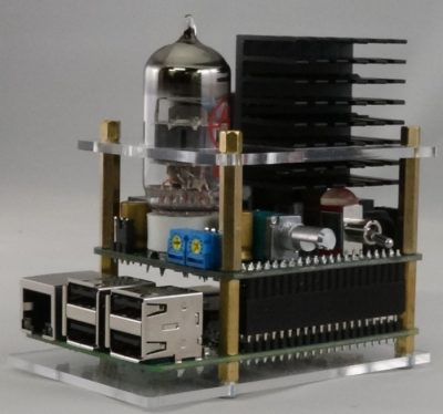 Raspberry Pi Tube Amplifier