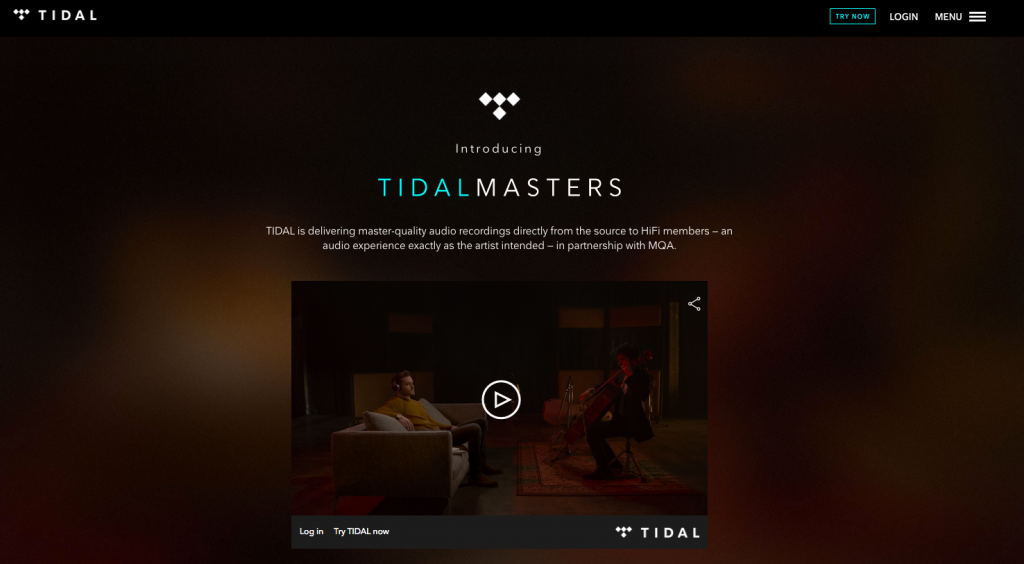 TIDAL launches 'TIDAL Master' Audio