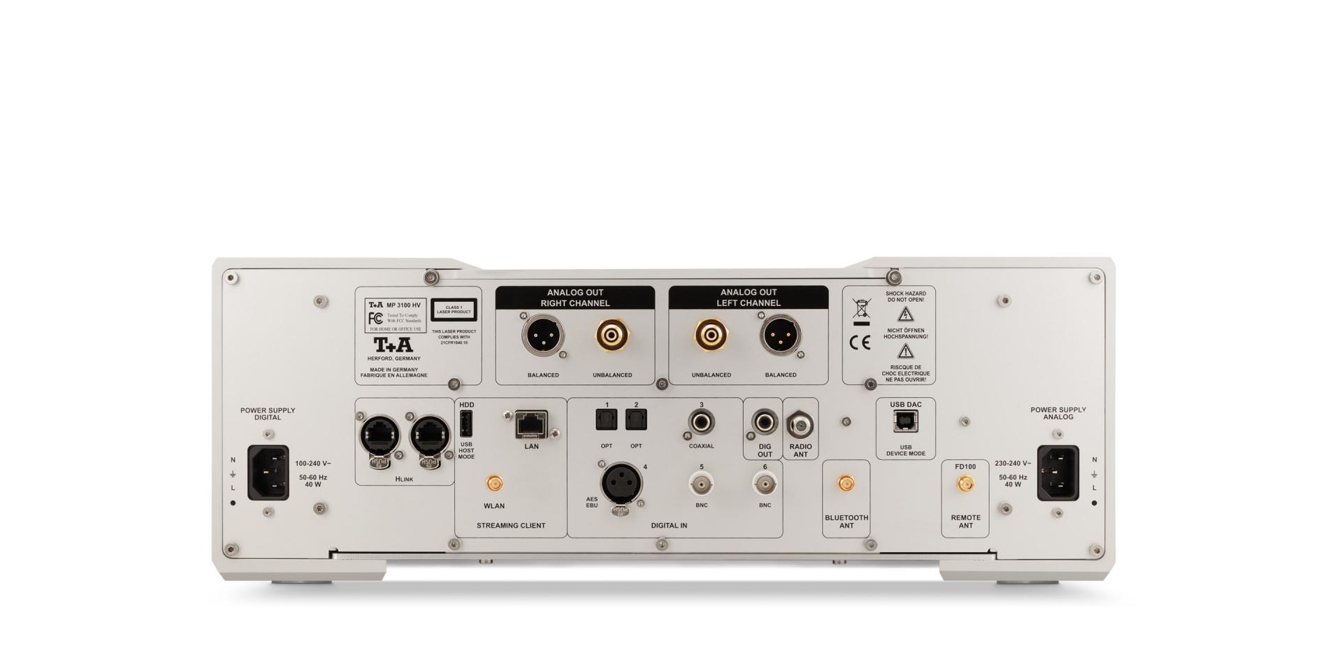 MP 3100 HV Multi-Source SACD Player