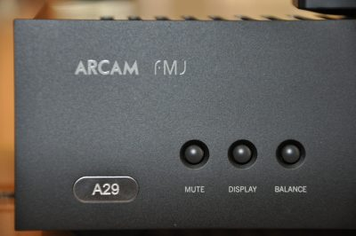 Coming Up – Arcam FMJ A29 Integrated Amplifier