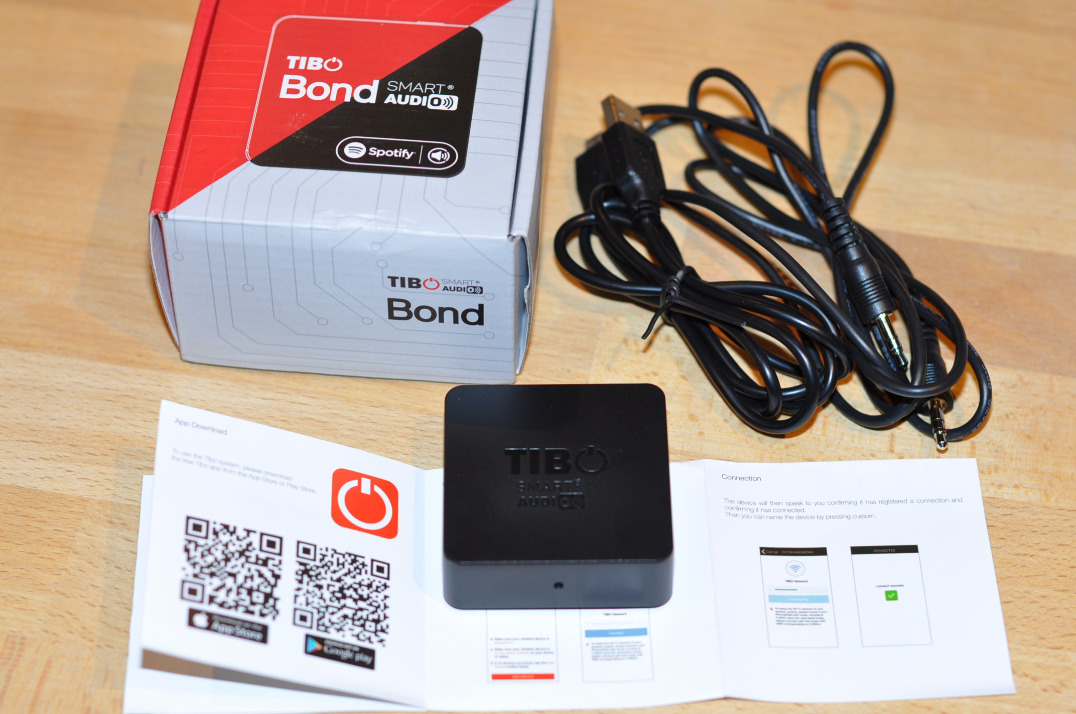 TIBO Bond Mini Wi-Fi Audio Streamer - HiFi and Music Source