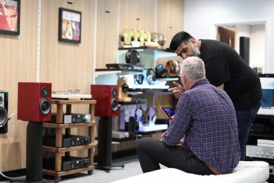 Hifonix Hi-Fi store restyled