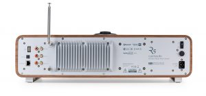 R5 High Fidelity Music System Rear Panel