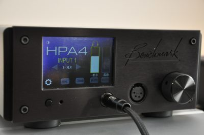 Benchmark HPA4 – Headphone Amplifier – Review