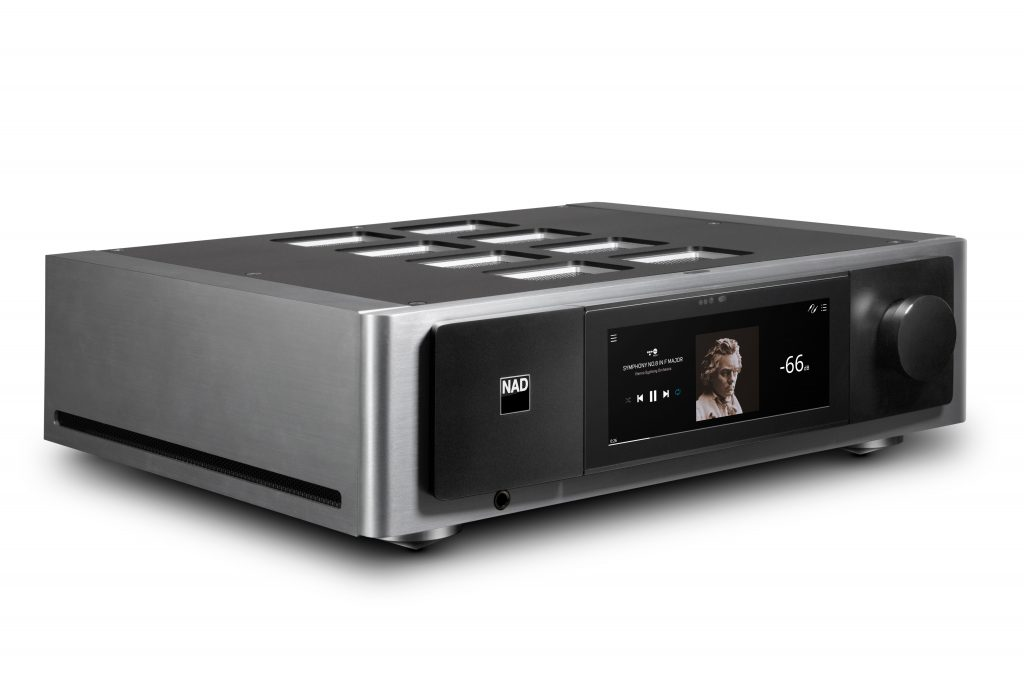 NAD M33 streaming DAC Amp now shipping