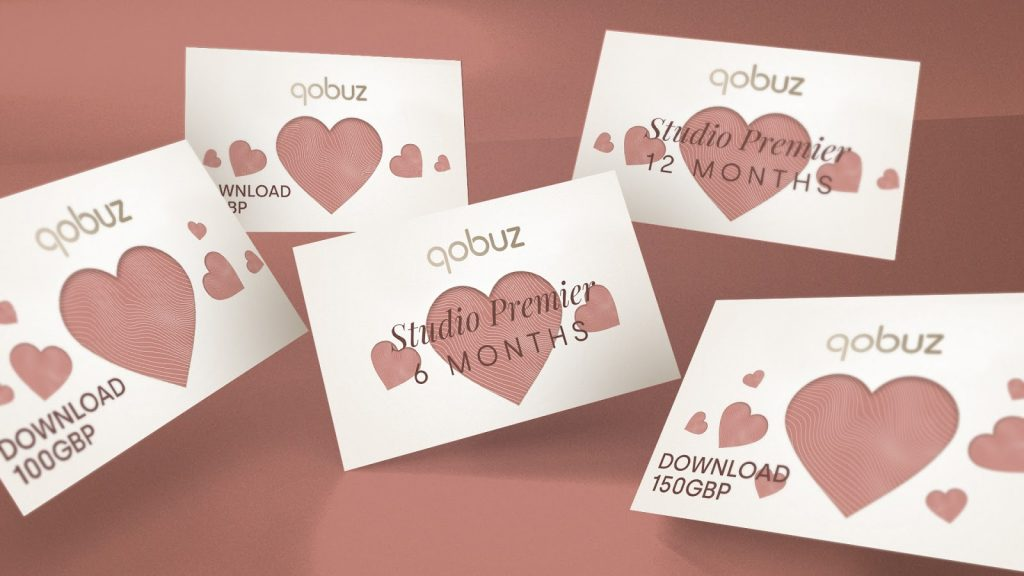 Give the gift of Qobuz hi-res music for Valentine's day