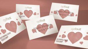 Qobuz gift cards