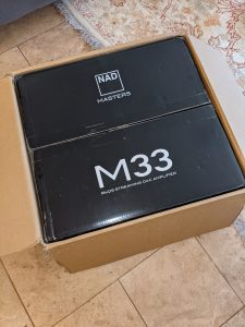 NAD M33 streaming DAC amplifier