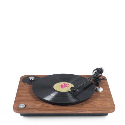 Elipson adds wood finishes to Chroma 400 turntables
